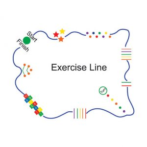 Exercise Line Playground Markings
