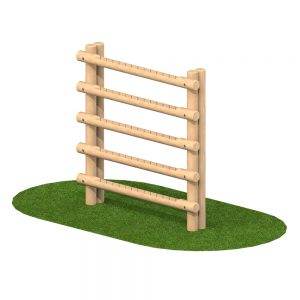 Playscape Playgrounds Timber Gate Climber