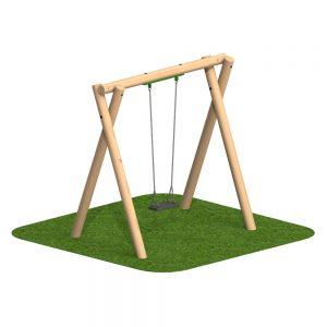 Timber Swing 1 Flat Seat