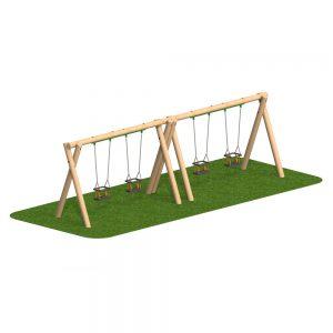 Timber Swing 4 Cradle Seat
