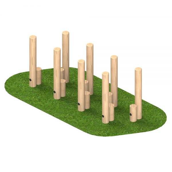 Playscape Playgrounds Walk and Stretch Posts