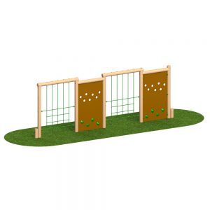 Playscape Playgrounds Wall Net Combo