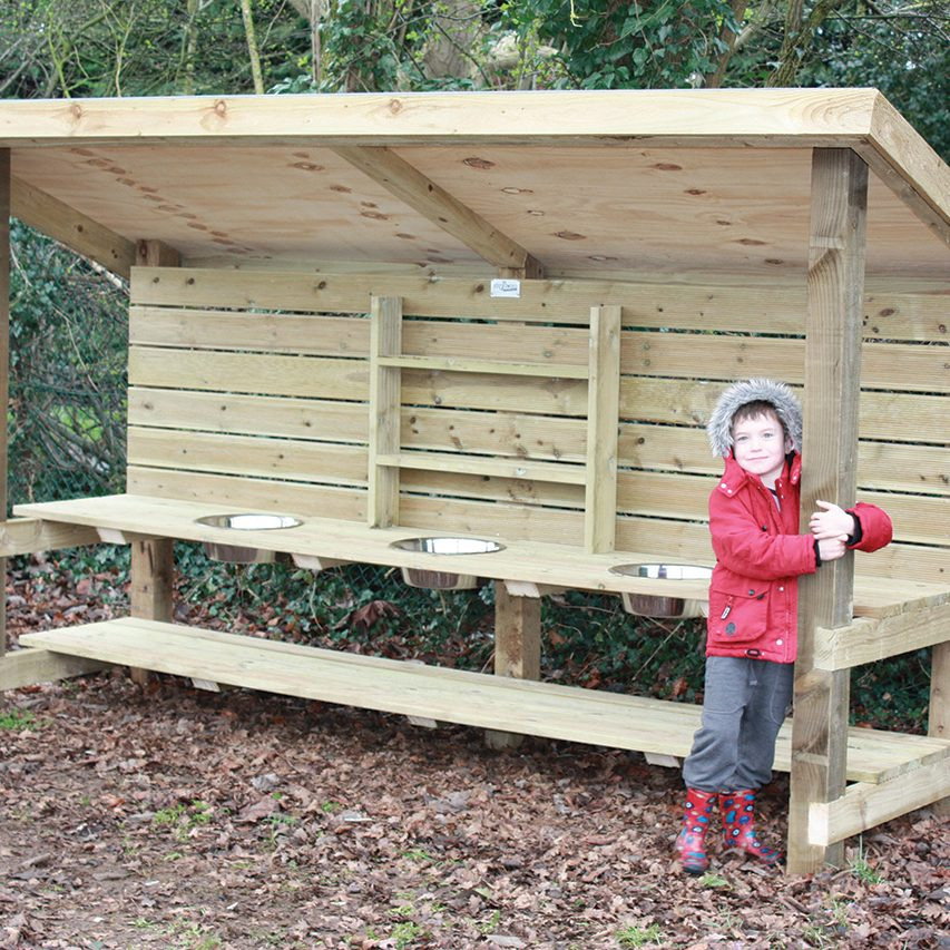 Playscape Playgrounds Sink Playground Shelter and mud kitchen Homepage Image